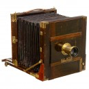 Large English Field Camera (Wet-Plate), c. 1870