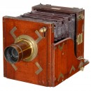 Field Camera by Rouch with Dallmeyer Lens, No. 4448, c. 1861