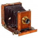Small Field Camera by J.H. Dallmeyer, c. 1900