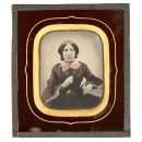 Ambrotype New's Photographic Portrait Gallery, July 15, 1857