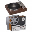 SME Record-Player and Revox Tape Recorder