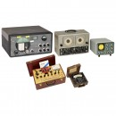4 Radio Technical Measuring Instruments and 1 Hallicrafters Rece