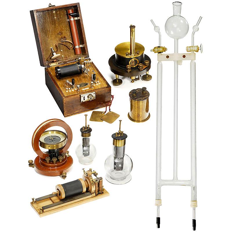 电子科学仪器的收藏