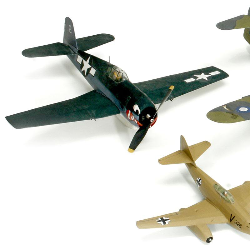 5架二战飞机模型(1:32)