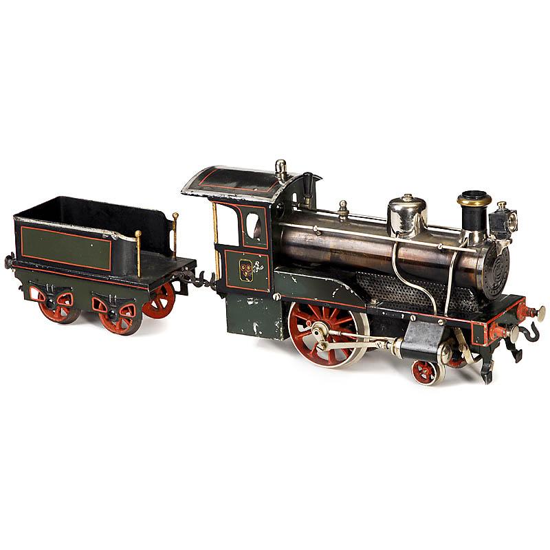 bing生产的单缸蒸汽火车头模型