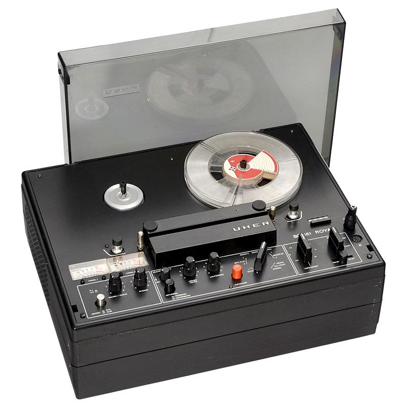 磁带录音机uher, 20世纪70年代